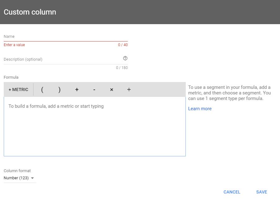 custom-columns-گوگل-adwords